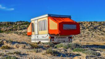 camper setup ready