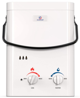 camping tankless propane water heater