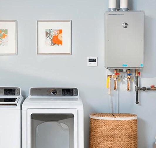 indoor tankless water heater