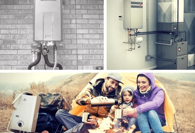 best exterior tankless water heater