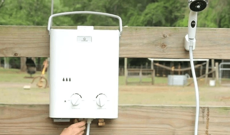 portable tankless water heater review