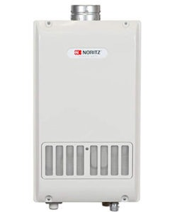 outdoor tankless gas water heater