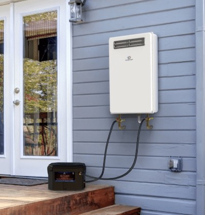 outdoor tankless water heater reviews