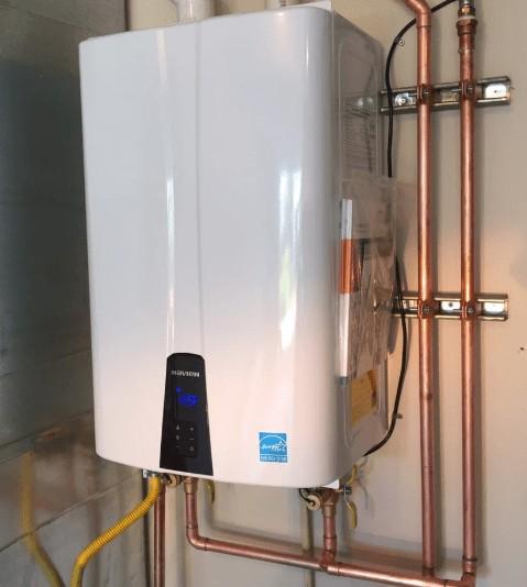 tankless water heater brands navien