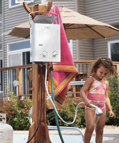 best outdoor tankless water heater propane