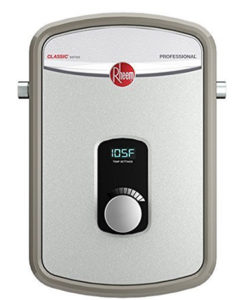 rheem rte 18 tankless water heater review