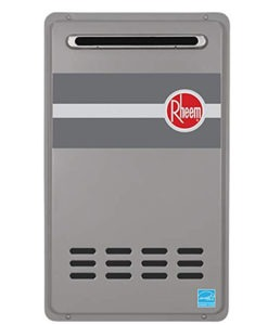 rheem gas tankless water heater reviews