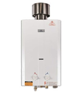 best tankless water heater for travel trailer