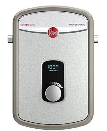 rheem rte 13 electric tankless water heater review