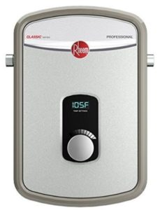 how much is a tankless electric water heater