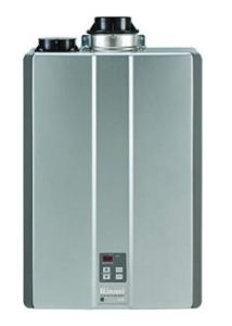 what size tankless water heater for family of 4