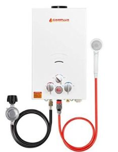 propane tankless water heater for cottage