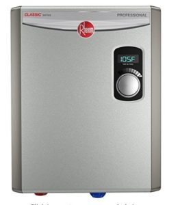 large power tankless water heater