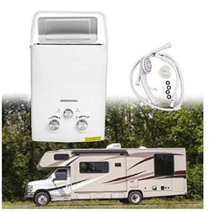 camper gas hot water heater