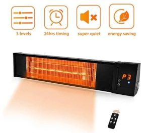 outdoor electric infrared patio heaters