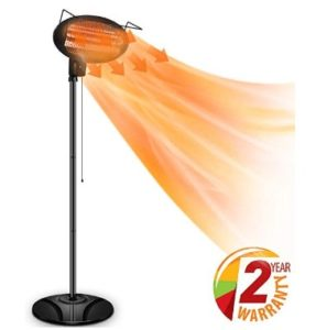 electric radiant outdoor patio heaters