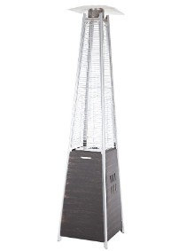 pyramid style patio heater