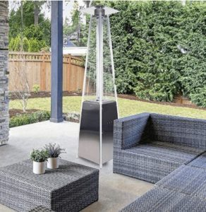 natural gas pyramid patio heater