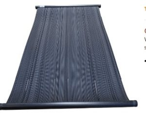 solar pool heater installation