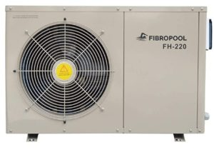 electric heat pump for inground pool