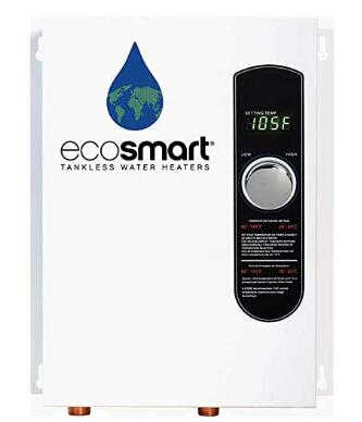 eco 18 electric tankless water heater