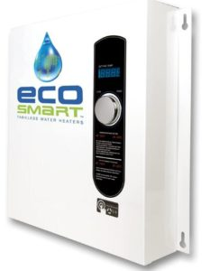 ecosmart eco 27 tankless water heater