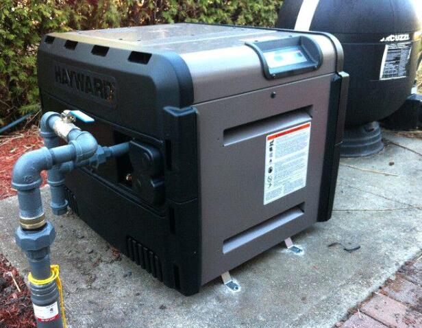 gas powered pool heater