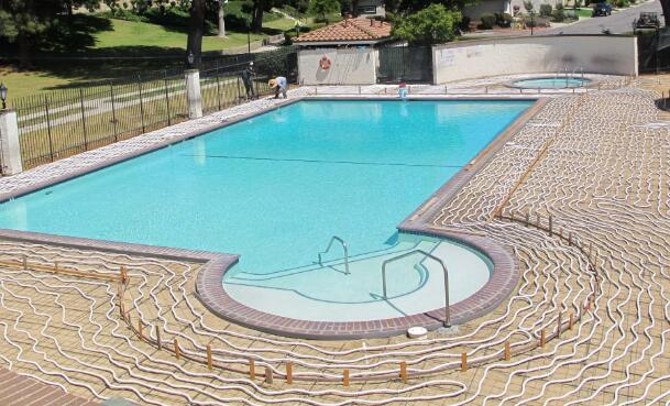 natural gas swimming pool heater