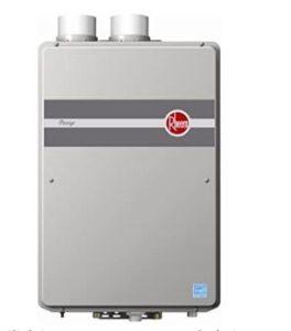 rheem indoor gas hot water heater