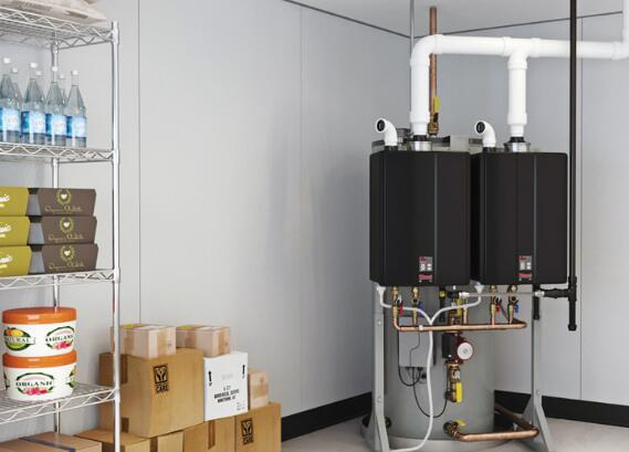 using commercial tankless water heater