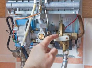 problems on gas tankless water heaters