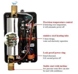 small mini tankless water heaters