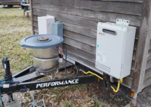 installing propane tankless water heater