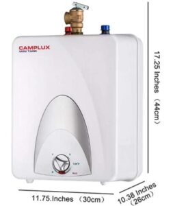 camplux electric water heaters