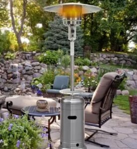 how long do propane patio heater last
