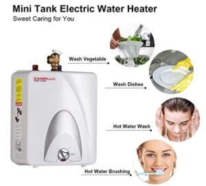 application of camplux mini water heaters