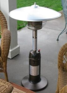 tabletop patio heaters gas