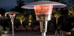 how to reduce propane patio heater problem