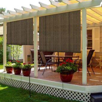 patio wind privacy screens