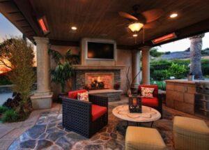 how to size infrared patio heaters